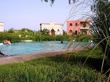 Piscine du centre Douar Noujoum Maroc